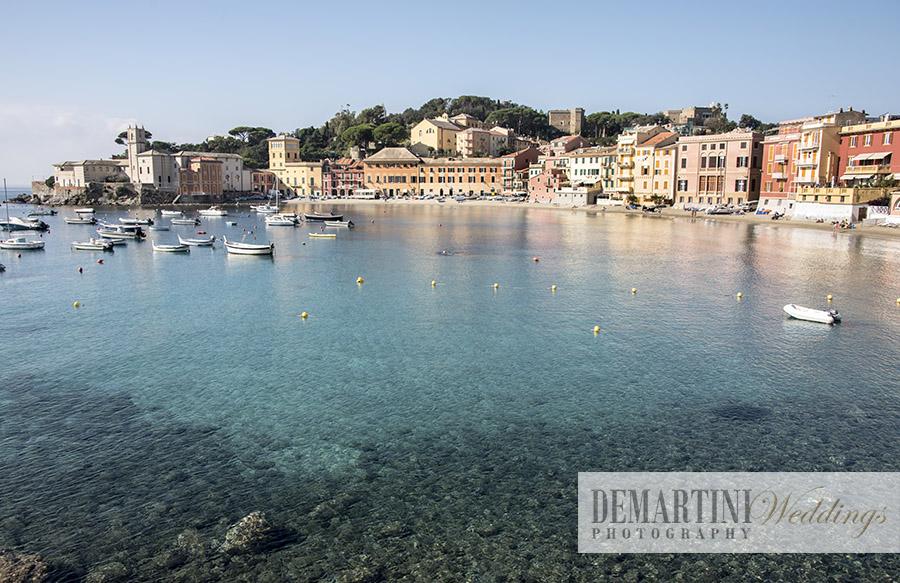 Matrimonio Spiaggia Sestri Levante : Marta demartini sposarsi in baia a sestri levante
